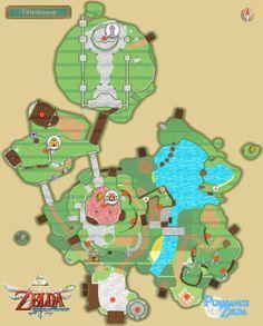Solution de Skyward Sword : Cartes - Puissance-Zelda