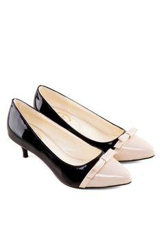 SHU Emma Patent Bow Low Heels Emma蝴蝶結低跟鞋(HKD 244.00)