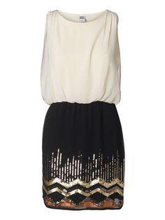 SISTER SL SHORT DRESS #veromoda #dress #sequins #party #fashion @Veronica MODA #inlove