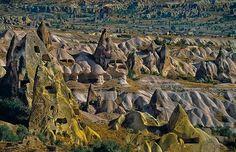 Troglodyte Caves - Cappadocia, Turkey