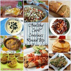 Healthy Carbs Craving Round Up Food Done Light #sidedishes #breakfast #dessertrecipes