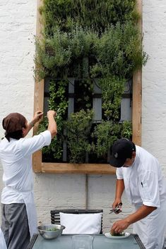 Vertical herb garden. #LoveNature