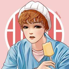 Vernon fanart 아주Nice Ice cream teaser photos