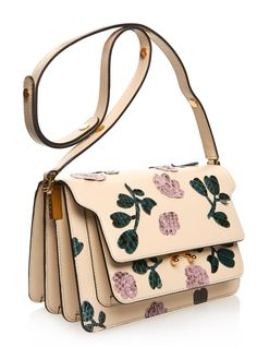 Marni SS 2015 Trunk medium leather and python shoulder bag. Printed Bags 5d18c0cdc6a16