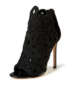 33d1bd766 Lenni Woven Peep-Toe Bootie by B Brian Atwood at Gilt Peep Toe Pumps