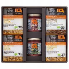Short pasta made from organically grown durum wheat is 4 types and pasta sauce two types of sets that were made from organically grown tomatoes. This assortment where you can feel the blessing of the earth.