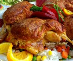 Töltött csirkecomb sütőzacskóban sütve Recept képpel - Mindmegette.hu - Receptek Meat Recipes, Cake Recipes, Bacon, Food And Drink, Turkey, Lunch, Chicken, Diet, Easy Cake Recipes