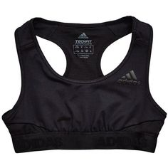 Adidas Older Girl Ask Sports Bra ($24) ❤ liked on Polyvore featuring activewear, sports bras, adidas sports bra, adidas, adidas activewear and adidas sportswear