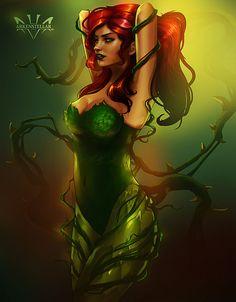 Poison Ivy,Ядовитый Плющ, Памела Айсли,DC Comics,DC Universe, Вселенная ДиСи,фэндомы,Arkenstellar