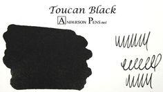 Toucan Black (60ml Pouch) Fountain Pen Ink