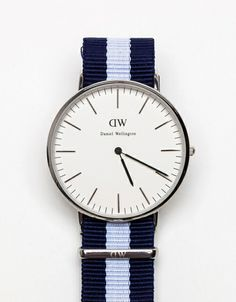 Classic Glasgow in Silver- Daniel Wellington