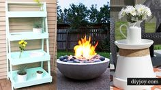 43 DIY Patio and Porch Decorations | DIY Joy Projects and Crafts Ideas