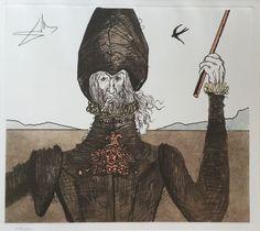 Salvador Dali (after) - Le rêveur, histoire de Don Quichotte de la Mancha