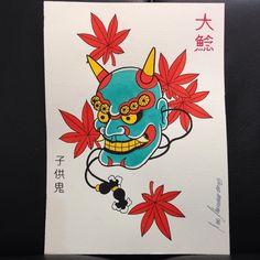 Kodomo Oni - @onamazu_tattoo #tattoo #irezumi #japanesetattoo #japaneseart…