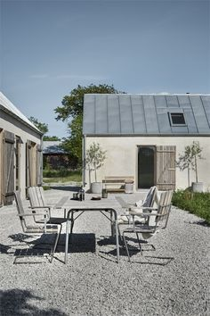 my scandinavian home: A Striking Holiday Home on The Swedish Island Of Gotland -. my scandinavian Ikea Living Room Furniture, Scandinavian Garden, Swedish House, Modern Farmhouse, Architecture Design, Cottage, Backyard, Outdoor Decor, Outdoor Furniture