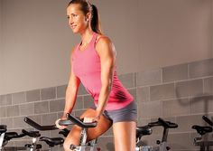 Do your own spinning class in the gym/at home!  Awesome indoor cycling workout and playlist to go along with it!