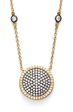 Freida Rothman 'Metropolitan' Pavé Pendant Necklace available at #Nordstrom