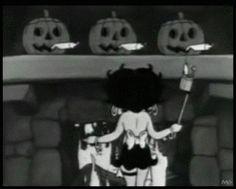 Betty Boop's Halloween Party, 1933. By Max Fleischer