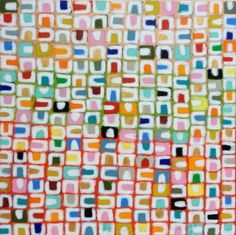 Peinture Pattern from les bories, Par Gordon Hopkins