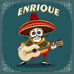 imagenes+dia+de+muertos+calaveritas+musico+con+guitarra+y+nombres+de+hombres+ENRIQUE.png (650×650)