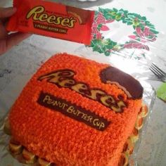 Reese Peanutbutter cup cake!