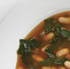 Spicy Kale Stew - Best vegetarian stew recipe I've found. Add great northern or navy beans for more protein and texture, and substitute at least half the water with veggie broth or stock. Freezes well.