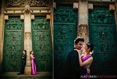 Joel & Janice Pre Wedding Portraits in Prague by Luxury Fine Art Wedding & Portrait Photographer Kurt Vinion