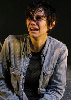 Maggie's face when they killed Glenn was so heartbreaking :(