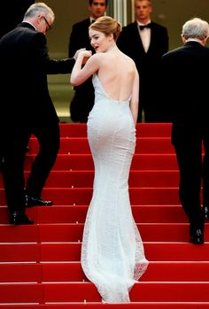 Emma Stone attends the 'Irrational Man' Premiere during the 68th annual Cannes Film Festival on May 15, 2015 in Cannes, France.