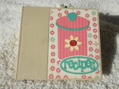 6x6 Recipe Scrapbook by SimplyMemories on Etsy