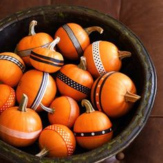 small pumpkins in wooden bowl- I have the large wooden bowl... need small pumpkins and ribbon.