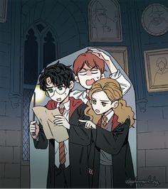 Harry Potter Anime, Harry Potter Illustrations, Harry Potter Wallpaper