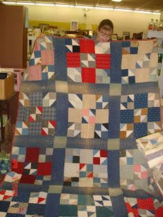 A Wonderful Time In Asheboro! Old Quilts, Antique Quilts, Scrappy Quilts, Vintage Quilts, Patchwork Quilting, Primitive Quilts, Civil War Quilts, Quilting Tips, Quilt Making