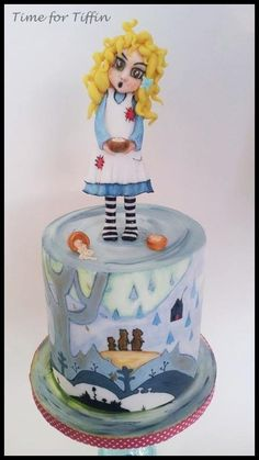 Goldilocks and the Three Bears  - Cake by Time for Tiffin