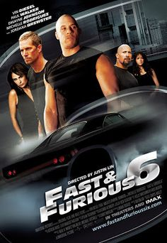 Fast & Furious 6 (2013) HD Scam Hindi Dubbed