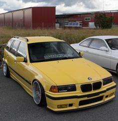 BMW e36 Touring Bmw Car Models, Bmw Cars, Bmw E36 Touring, Bmw Old, Bmw Wagon, Bmw Series, Bmw Classic, Custom Cars, Porsche
