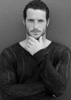 "Justice Joslin ""Handsome & Sexy"" - Hairy Male Model - Football Player - Hot Man"