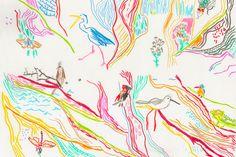 Color Line Variations – Leenykova Color Lines, Illustration, Illustrations