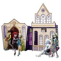 Are you looking for a Monster High dollhouse?