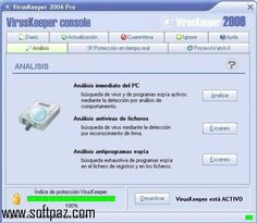 Download VirusKeeper 2006 (Versión español) windows version. You can get it from Softpaz - https://www.softpaz.com/software/download-viruskeeper-2006-versin-espaol-windows-184658.htm for free. High speed servers! No waiting time! No surveys! The best windows software download portal!