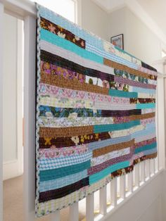 selfsewn: bohemian like you quilt reveal