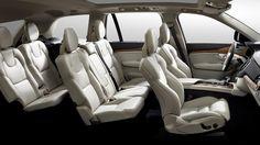 2016 Volvo XC90 interior cutaway
