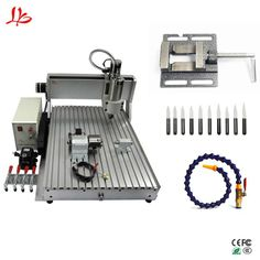 Chinacnc 6090 1.5KW 4axis CNC Router Engraving Machine USB Wood Aluminum Copper Metal Milling Machine. Yesterday's price: US $2550.00 (2289.14 EUR). Today's price (February 20, 2019): US $1708.50 (1527.57 EUR). Discount: 33%. #Woodworking #Machinery #chinacnc #milling Metal Milling Machine, Woodworking Machinery, Copper Metal, Cnc Router, February, Usb, Cnc Milling Machine