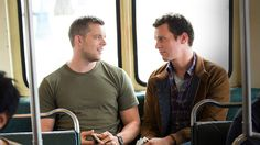 Jonathan Groff & Russell Tovey
