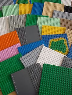 Lego  base plates / boards various #colours & #sizes to #choose..,  View more on the LINK: http://www.zeppy.io/product/gb/2/281384200241/