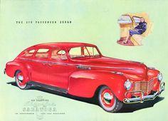 Chrysler Saratoga Six Passenger Sedan 1940 - Mad Men Art: The Vintage Advertisement Art Collection Vintage Advertisements, Vintage Ads, Chrysler Saratoga, Eight Passengers, Ad Art, Automotive Art, Old Cars, Mopar, Cars Motorcycles