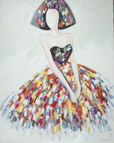 CUADRO MENINA (BACB2016.98) Dress Illustration, 98, Cool Art, Nice Art, Artist Painting, Art Pictures, Creative Art, Cool Words, Decoupage