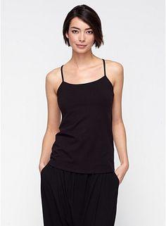 Yoga Tank in Organic Cotton Stretch Jersey