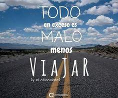 La clave de la felicidad?  #airhopping #frases #viajar #interrail #avion #viajes #viaje #frase #chocolate #viajero #viajeros #explorar #travel #vacaciones #verano #quotes #quote #excesos