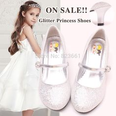 Cheap shoes kids shoes, Buy Quality shoe chain directly from China shoes onsale Suppliers: Welcome To Our ShopHot Sale Children Kids High Heel Shoes Silver Wedding Shoes For Flower Girls Plus size 28-36The best